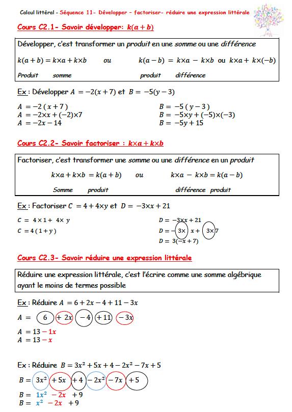 Archives Des Factoriser Page 2 Sur 2 Maths A La Maison